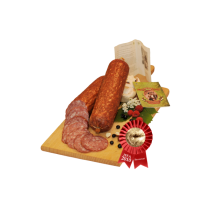de la stramba wild boar boiled salami