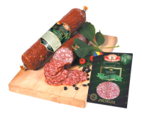 de la stramba wild boar raw dried salami