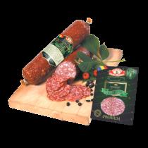 de la stramba wild boar raw dried salami