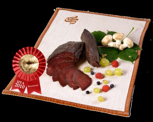venison pastrami vaccum