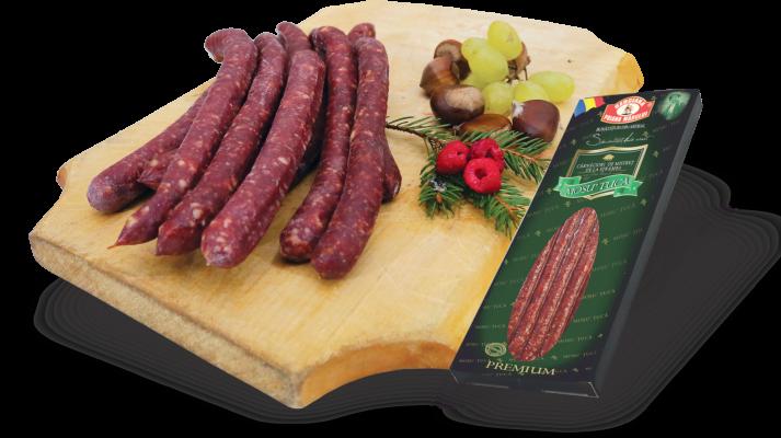 """""""DE LA STRÂMBA"""" WILD BOAR thin sausages / VACUUM"""