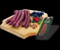 VENISON-WILD BOAR sausages