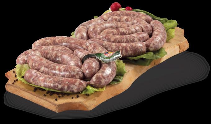 Fresh pork sausages