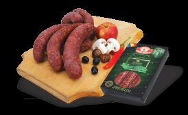 """""""DE LA STRÂMBA"""" WILD BOAR sausages/VACUUM"""
